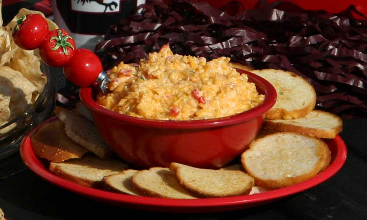 Recipes for making pimento cheese