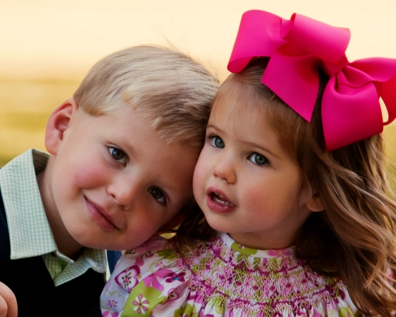 Mason & Julia, Christmas Card, 2012
