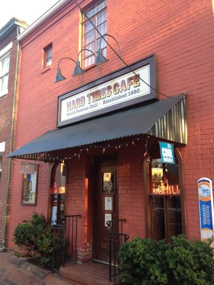 Hard Times Cafe - Alexandria, VA - Photo by Mike Bonfanti